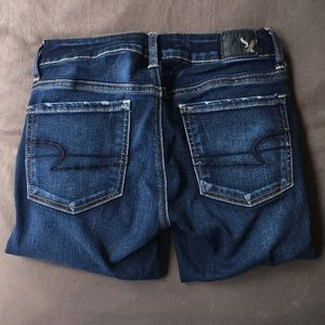 American Eagle Outfitters Jeans - American Eagle Stretchy Denim Dark Wash Jeans